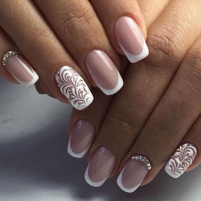 Popolare Guida alle unghie da sposa - Come farle? RT11