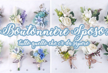 Boutonnière sposo: tutto quello che c'è da sapere