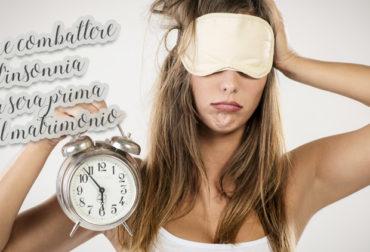 Come combattere l'insonnia la sera prima