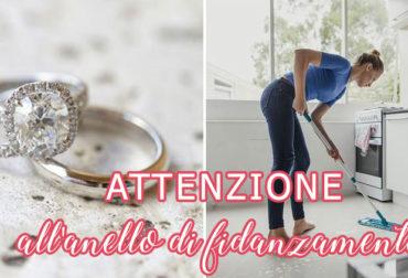Attenzione all'anello di fidanzamento