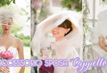 Accessorio sposa: Cappello