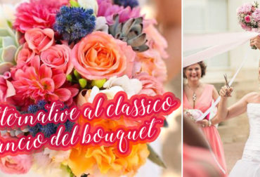 Alternative al classico lancio del bouquet