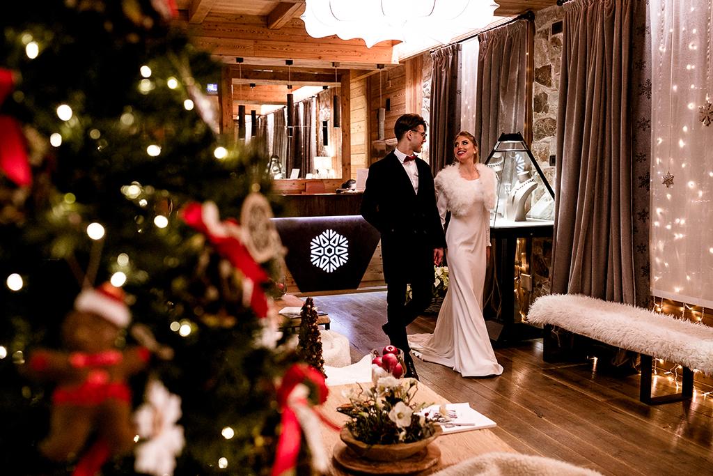 Wedding sulla neve
