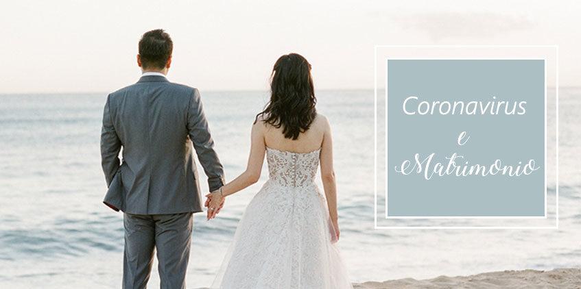 Coronavirus e matrimonio