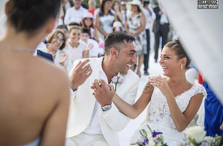 Wedding sulla spiaggia