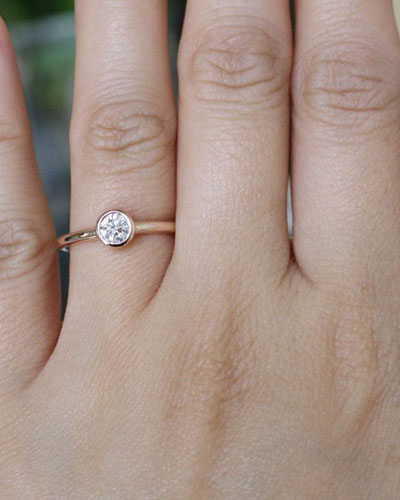 anello fidanzamento - abito